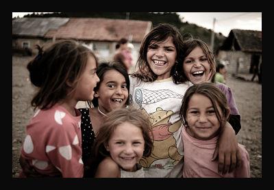 Romanian Roma Children...