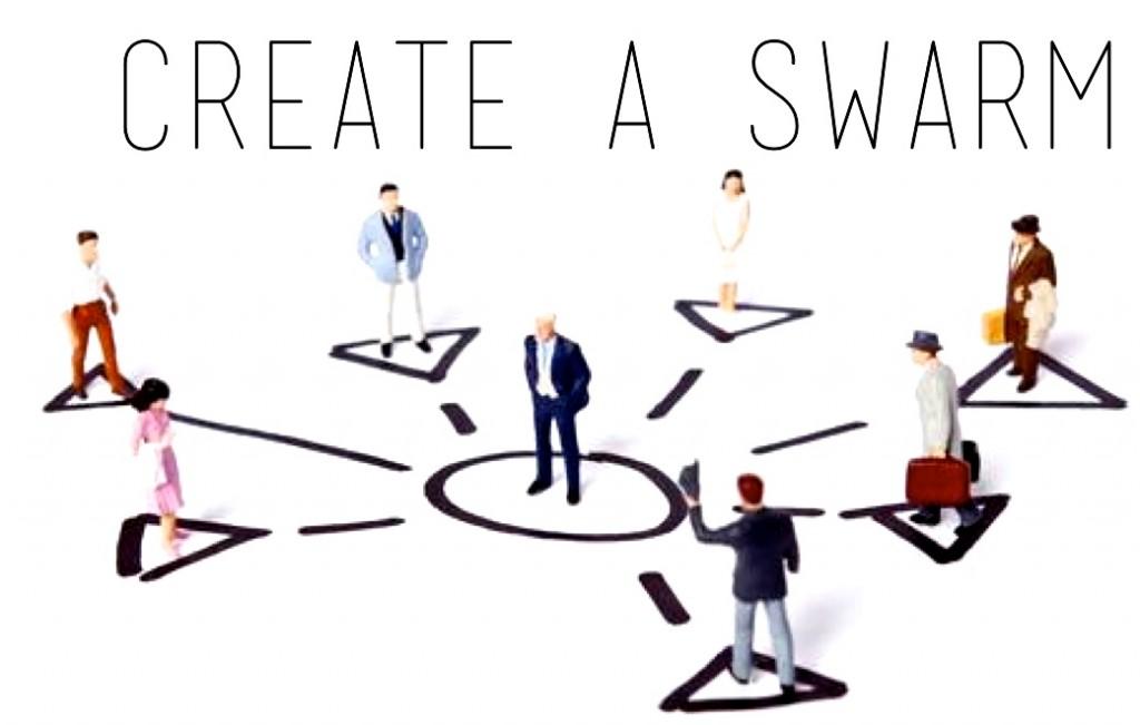 create a swarm
