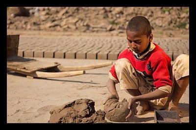 Pakistani Kiln Worker