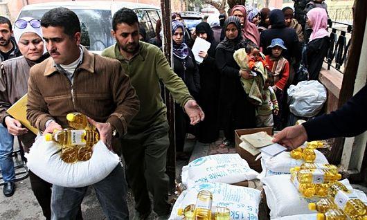 Humanitarian aid during the Syrian Civil War