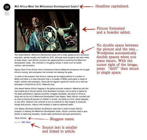 example post