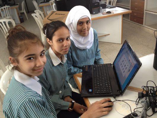 girls' education in Palestine