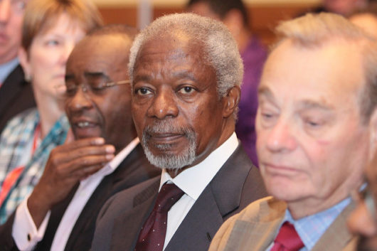 Remembering Kofi Annan: A Leader in the Fight Against Global Poverty