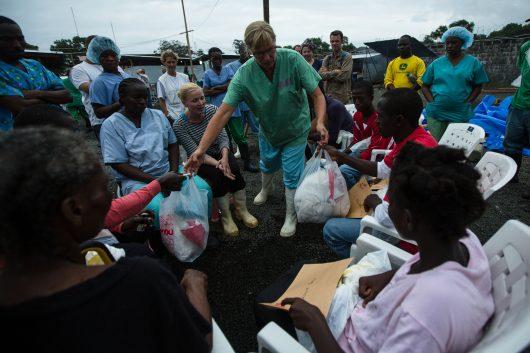 Medical humanitarian aid