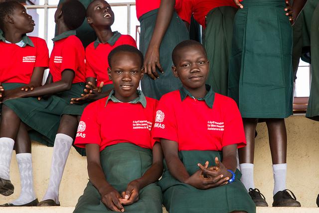 girls' education in South Sudan