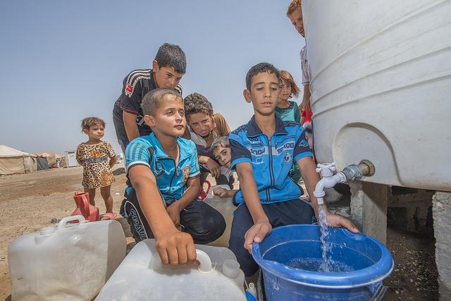 humanitarian aid to Iraq