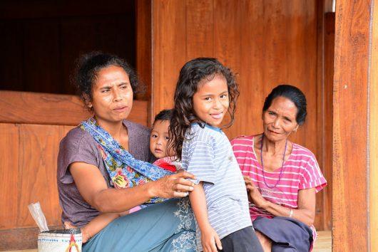 Malaria Epidemic in Indonesia Women Fight