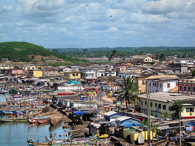 how the media misrepresents Ghana