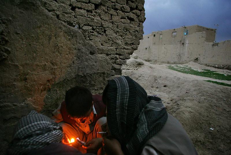 opiate addiction in Iran