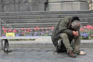 Homeless Prague