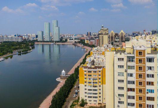 Infrastructure in Kazakhstan