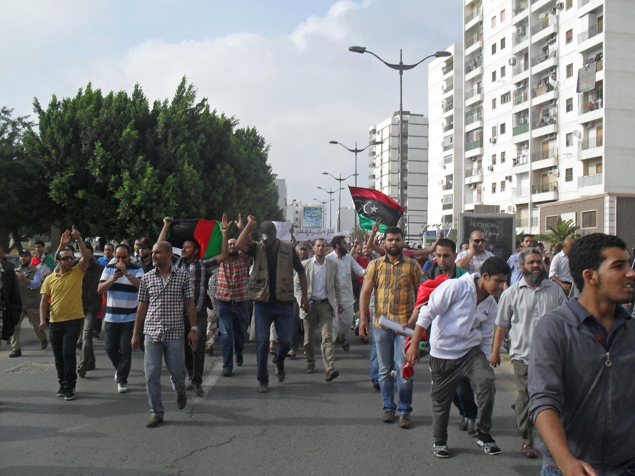 Slave Labor in Libya