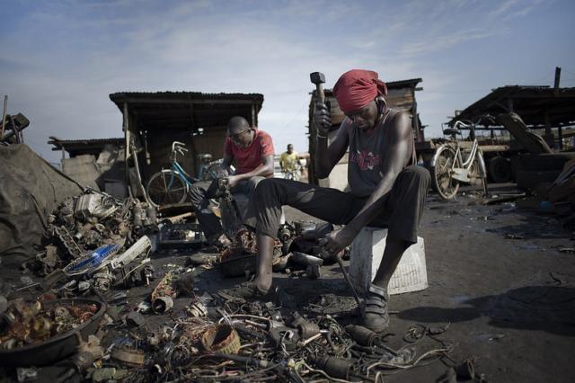Agbogbloshie Dump in Ghana