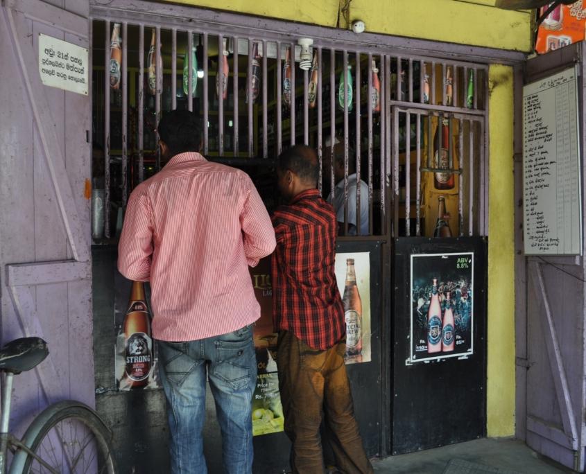 Alcohol consumption in Sri Lanka