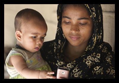 Bangladesh uses mobiles