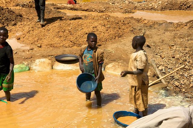 Child Laborers in the Democratic Republic of the Congo