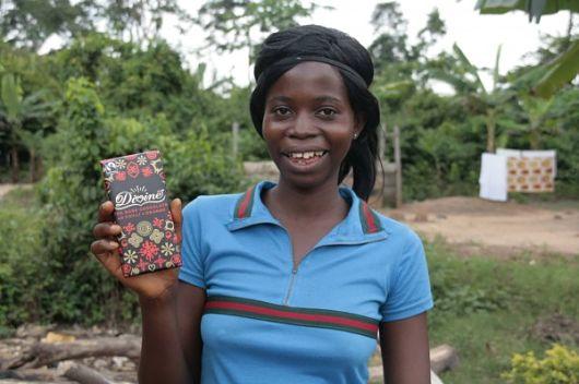 Chocolate Company Creates Jobs for Women in Ghana