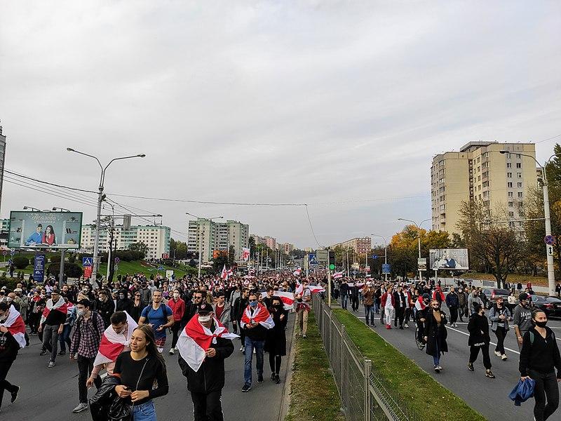 Civil Strife in Belarus