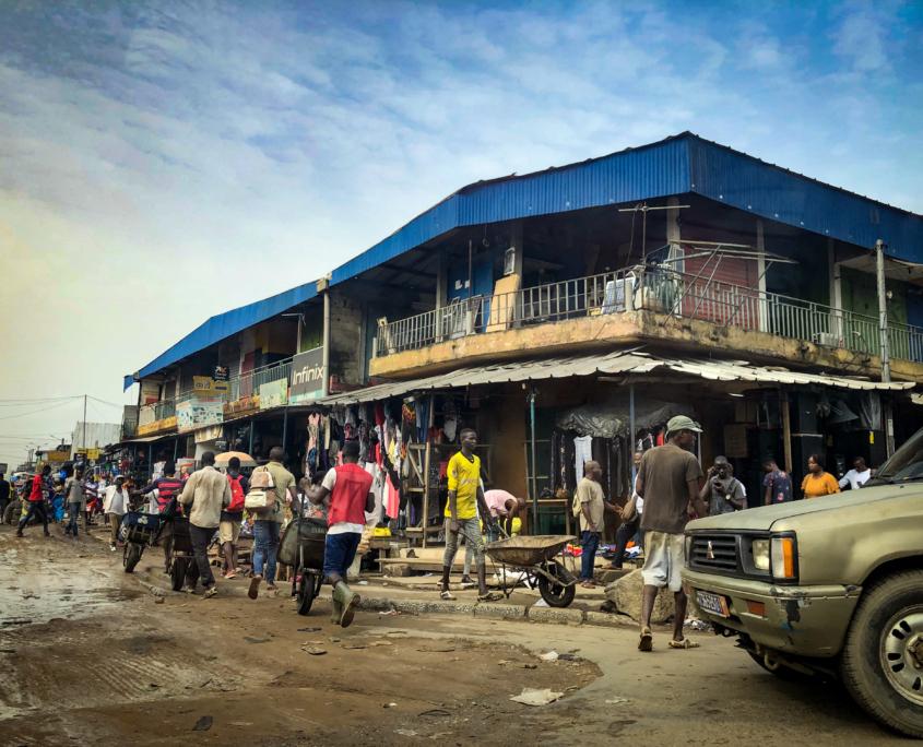 Construction sector in Côte d'Ivoire