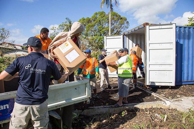 Cyclone Gita in Tonga