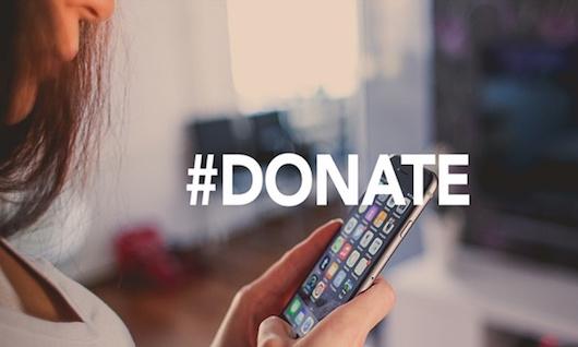 #Donate