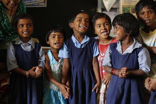 Educating children in India