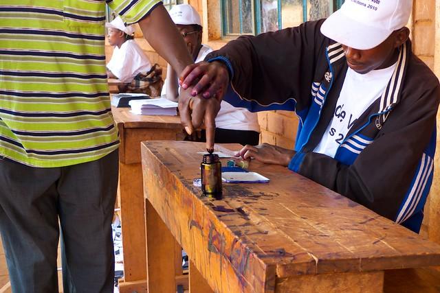 Election in Burundi