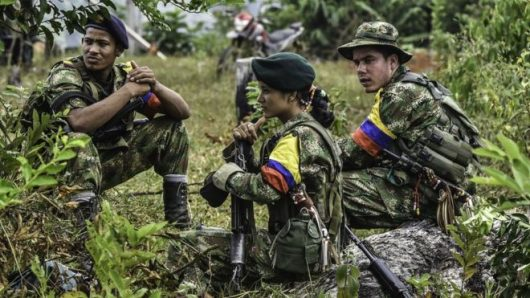 War with FARC in Colombia