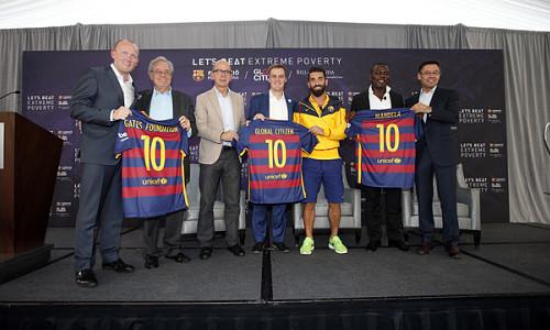 FC Barcelona, Global Citizen, Gates Foundation Unite to Combat Poverty