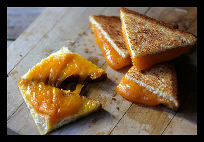 FeelGood Eating Grilled Cheese Sandwiches