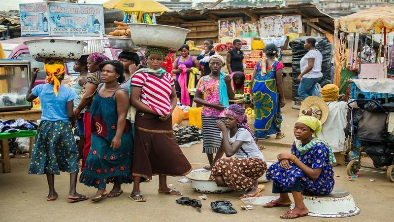 Female Farmers In Ghana