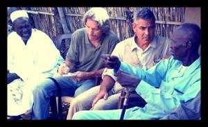 George Clooney and John Prendergast