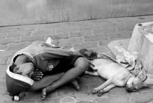 Helping street children