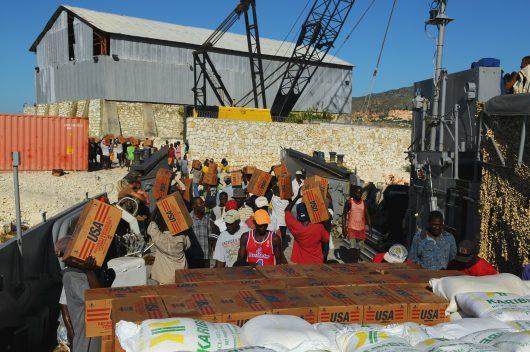 Humanitarian aid to Nicaragua