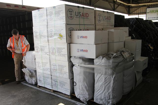 Humanitarian aid to Panama