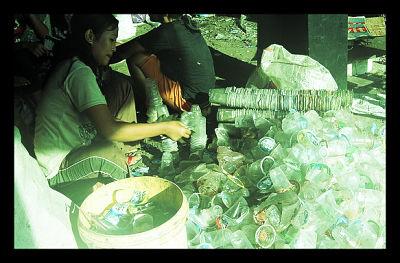 Indonesia Slum Trash Trade Healthcare