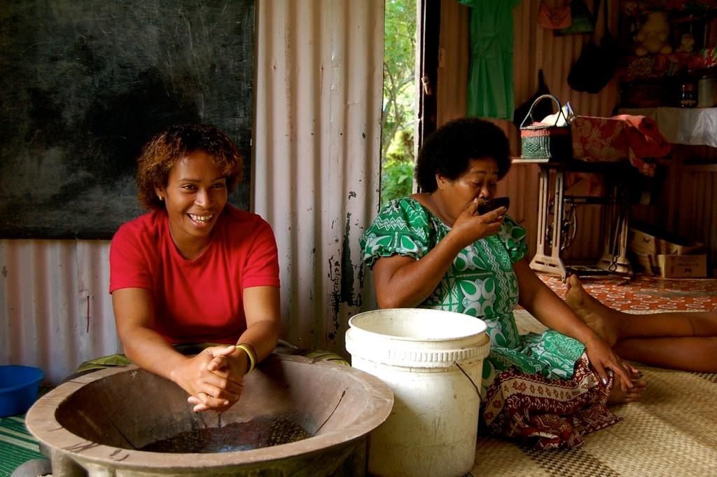 Kava Cultivation in Fiji