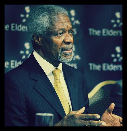 Kofi Annan, former Secretary-General