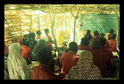 Mali Refugee Children School Teaching Tuareg Separatists Ansar Dine
