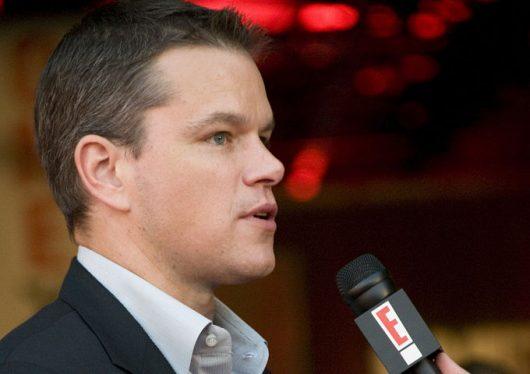 Matt Damon and Water.org