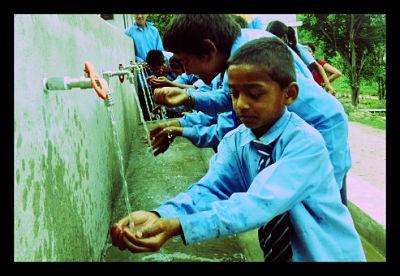 Nepal Clean Water MDG Millenium Development Goals