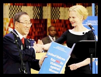 Nicole Kidman: Ambassador for UNIFEM