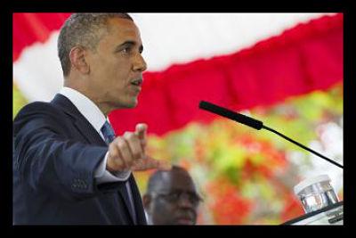 Obama in Senegal