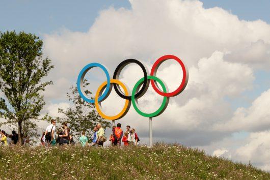 Olympic Athletes Give Back