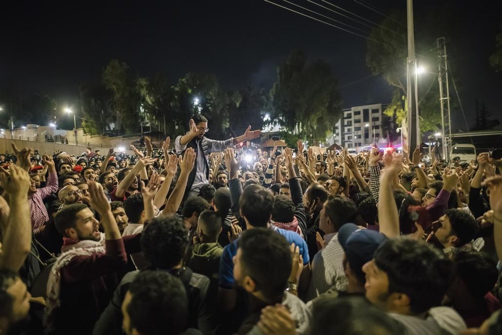 Teachers' Protests in Jordan