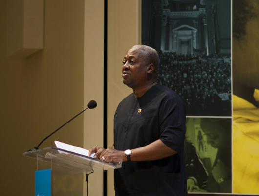 President Mahama Fights to End Poverty