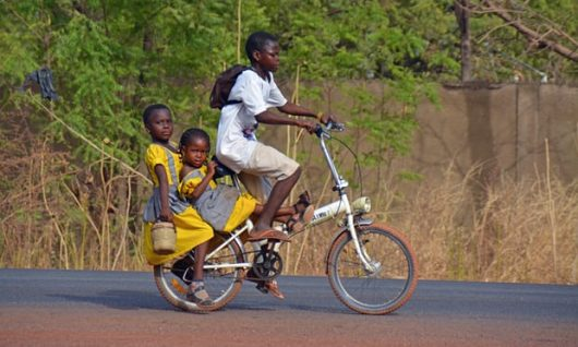 Providing Bicycles to Families in Africa