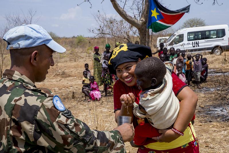 SDG 3 in South Sudan