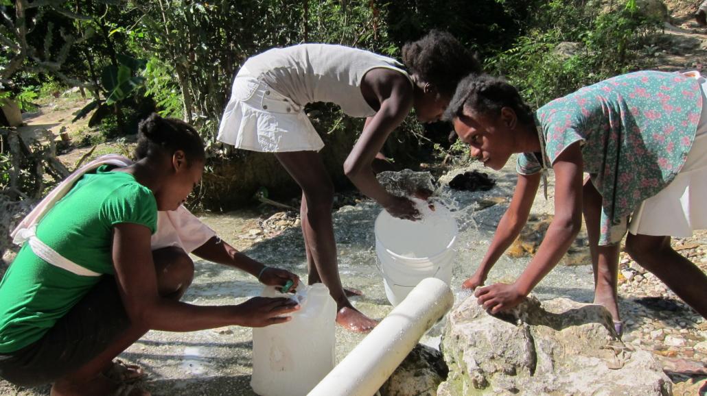 Sanitation in Haiti