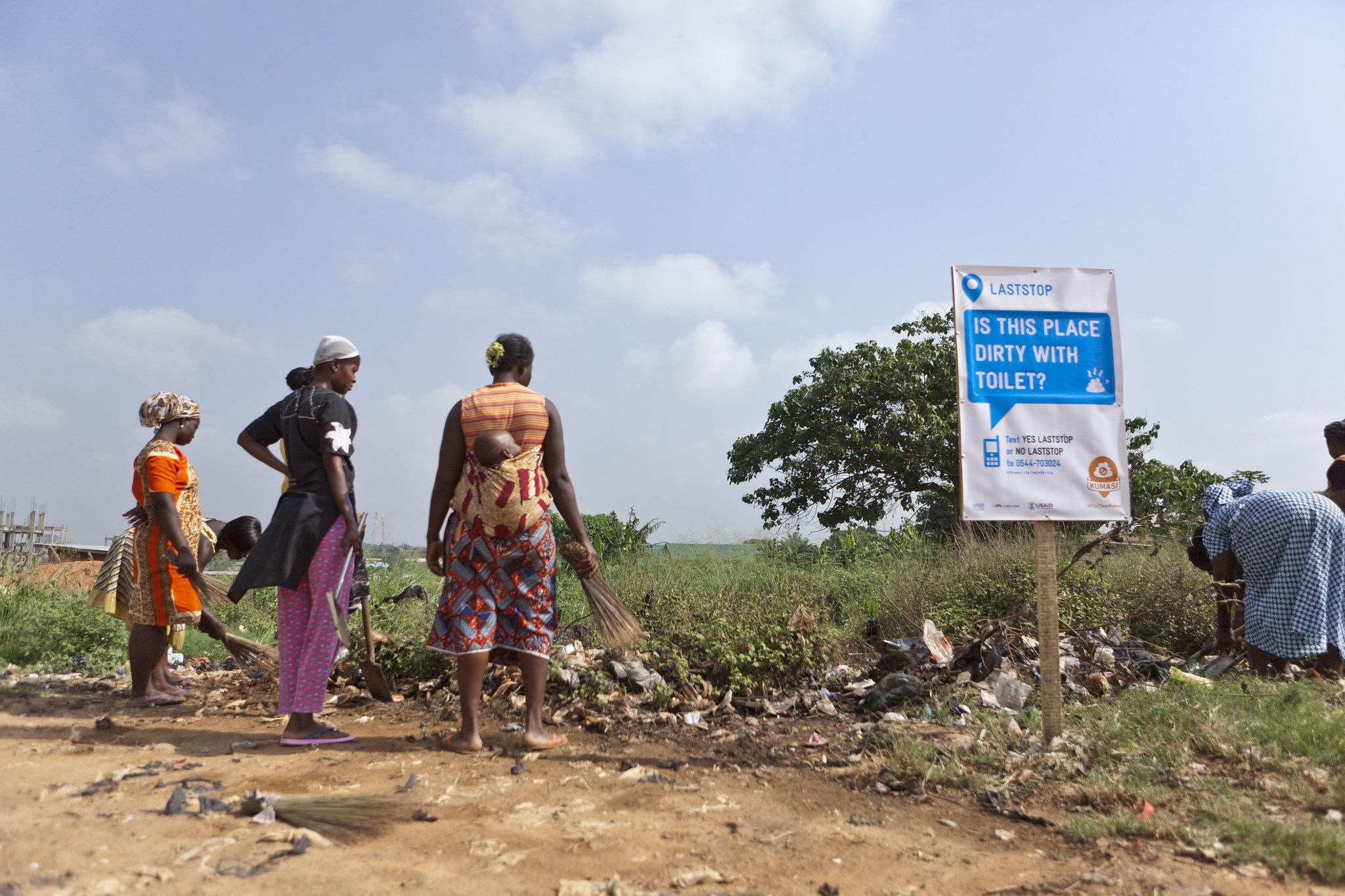Slums in Ghana